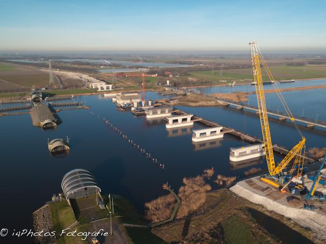 Ramspolbrug in aanbouw