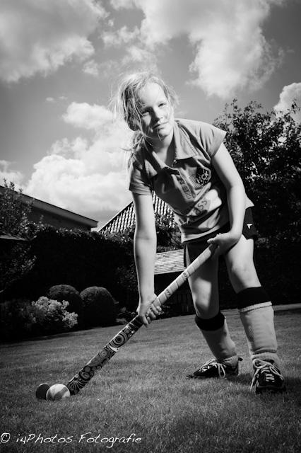 Stoere hockeymeid