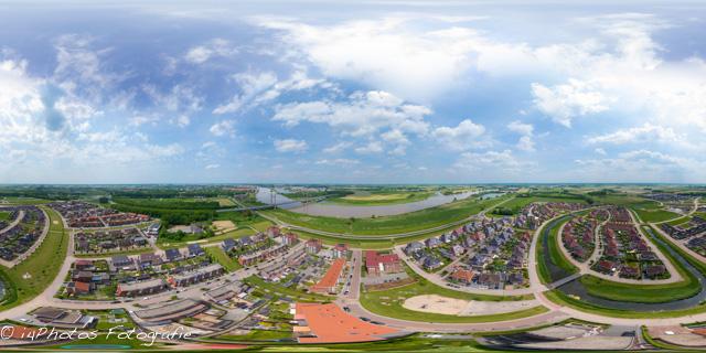 360 graden hoogtepanorama Het Onderdijks te Kampen