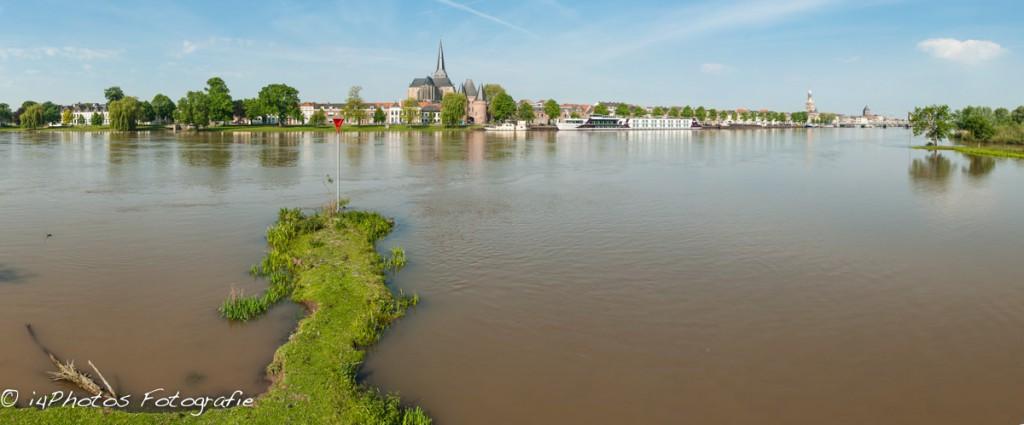 Panorama IJsselfront Kampen