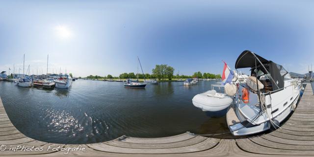 360 graden panorama Jachthaven te Elburg