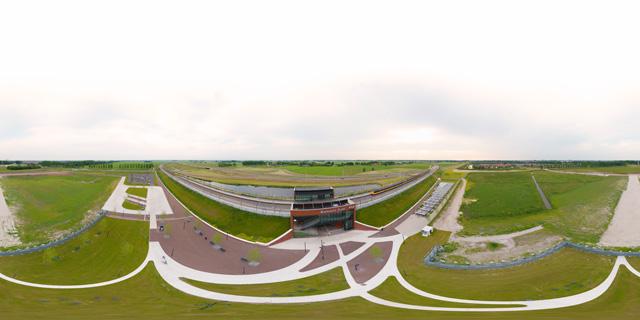 360 graden Panorama Station Kampen-Zuid