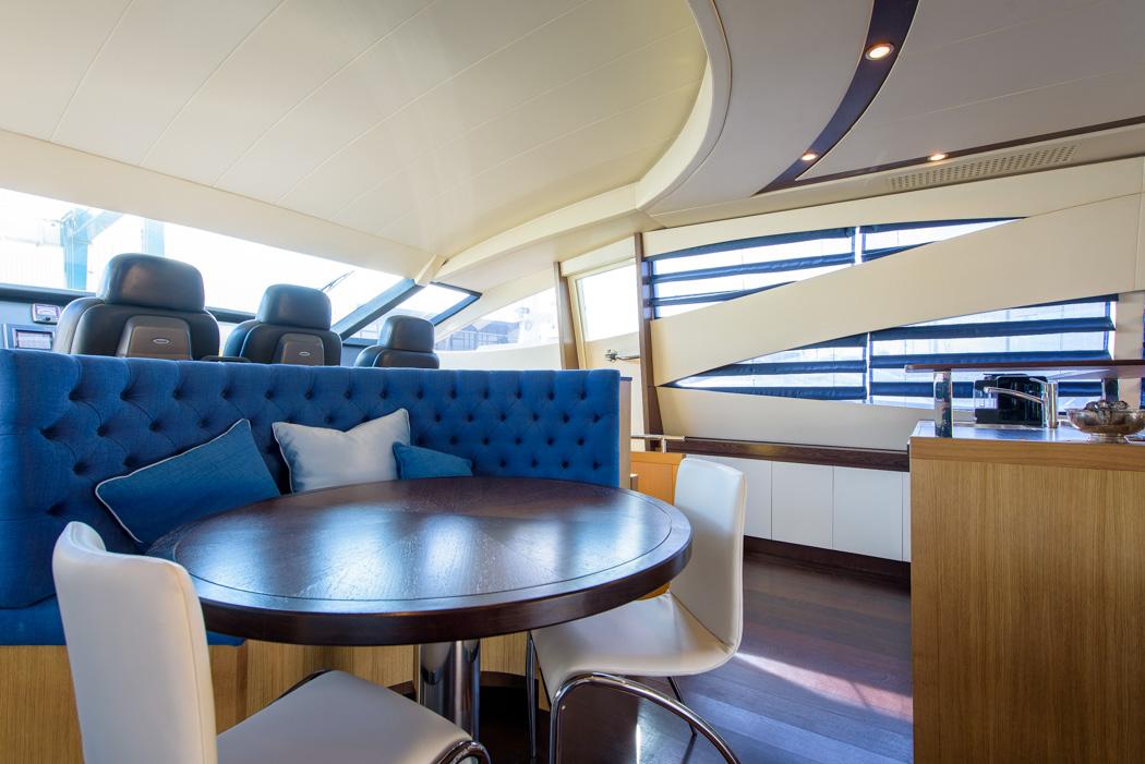 Interieur Pershing 90 motorjacht