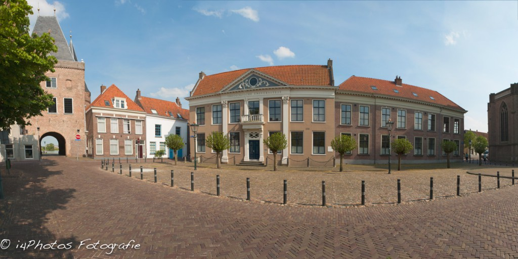Panorama Koornmarkt te Kampen